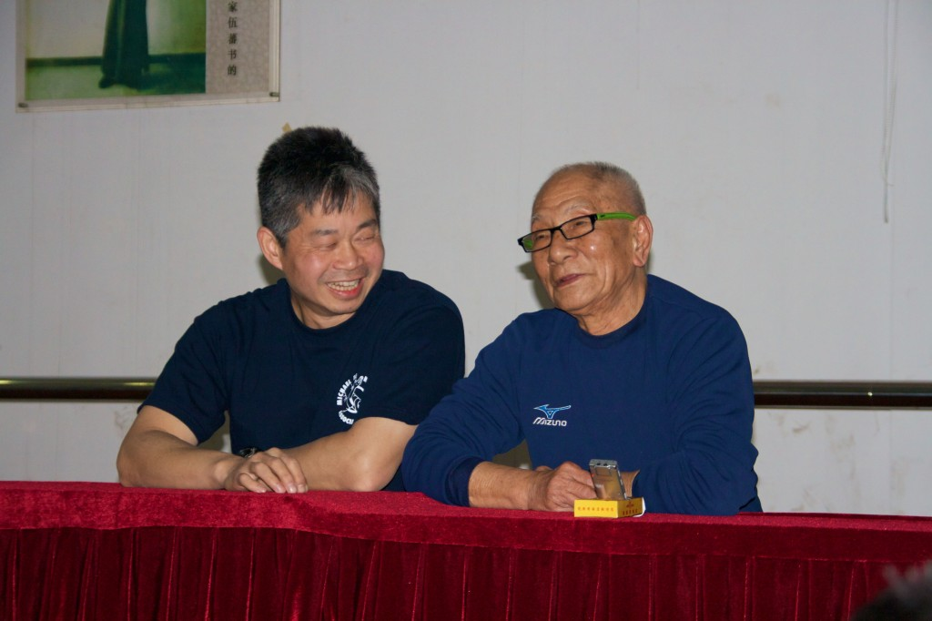 Photo Master Tse and Grandmaster Ip Chun