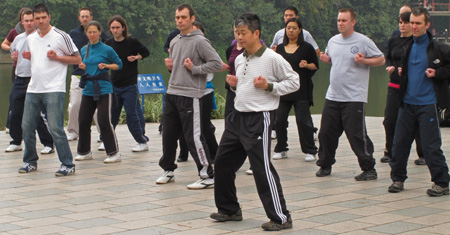 Wing Chun Stance Training