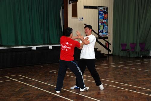 Wing Chun Back Fist