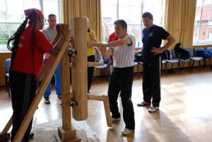 Wing Chun equal weight