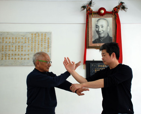 photo Master Tse & Grandmaster Ip Chun