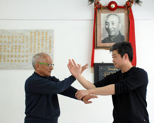 Master Tse and Grandmaster Ip Chun